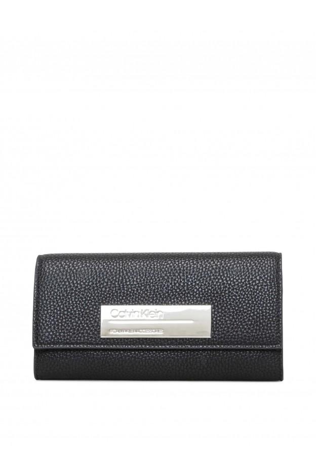 Calvin Klein Jeans Portafoglio K60K605351 001 Black - Nuova Collezione Autunno Inverno 2019 - 2020