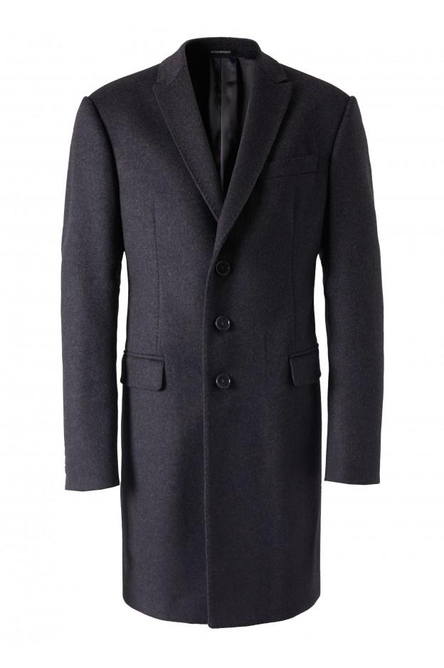 Emporio Armani Coat 11LMA0 11917 1690 Grey - New Collection Autumn Winter 2019 - 2020