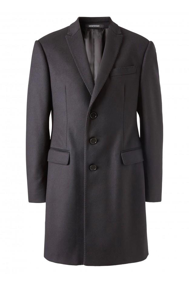 Emporio Armani Coat 11LMA0 11917 1999 Black - New Collection Autumn Winter 2019 - 2020