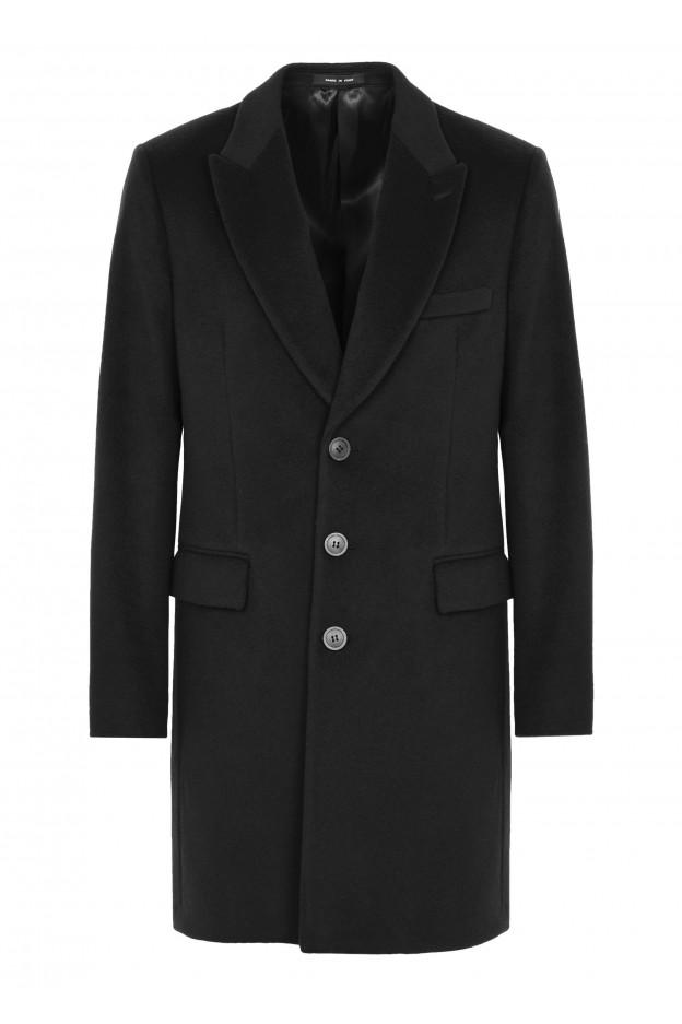 Emporio Armani Coat 01L640 01699 1999 Black - New Collection Autumn Winter 2019 - 2020