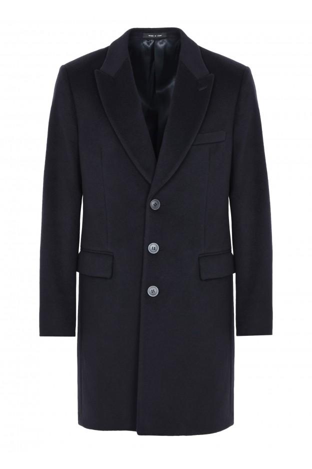 Emporio Armani Coat 01L640 01699 1922 Blue - New Collection Autumn Winter 2019 - 2020