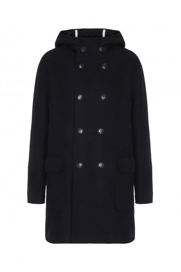 Emporio Armani Coat 6G1L61 1N7EZ 10932 Night Blue - New Collection Autumn Winter 2019 - 2020