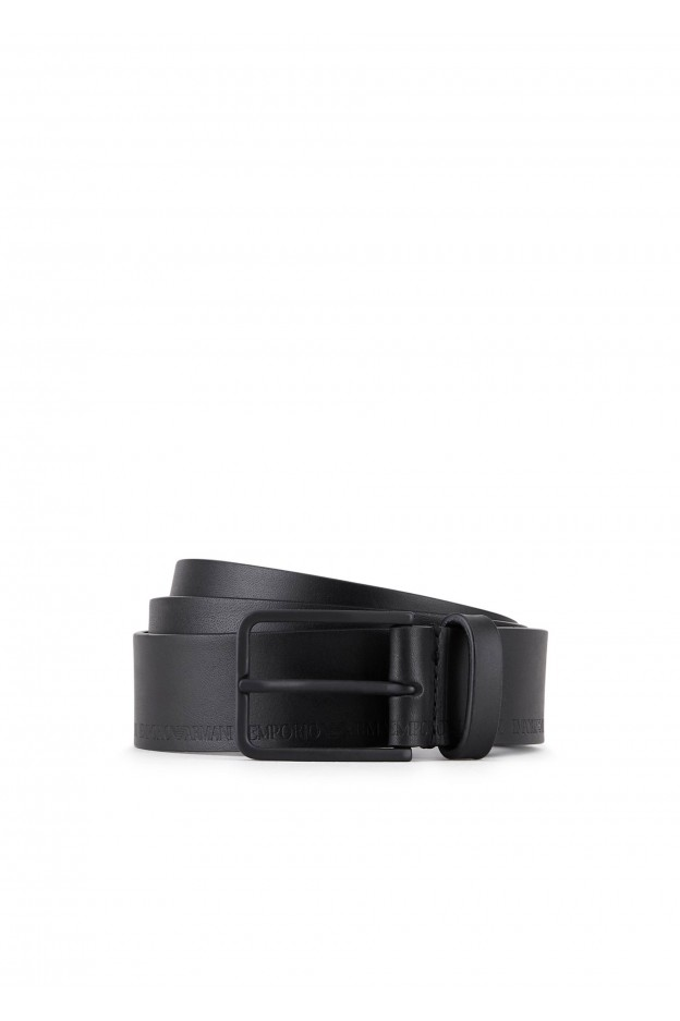 Emporio Armani Cintura Y4S281 YSP9V1 80001 Black - Nuova Collezione Autunno Inverno 2019 - 2020