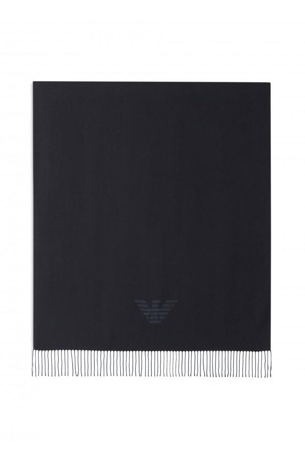 Emporio Armani Sciarpa 625214 8A318 00020 Black - Nuova Collezione Autunno Inverno 2019 - 2020