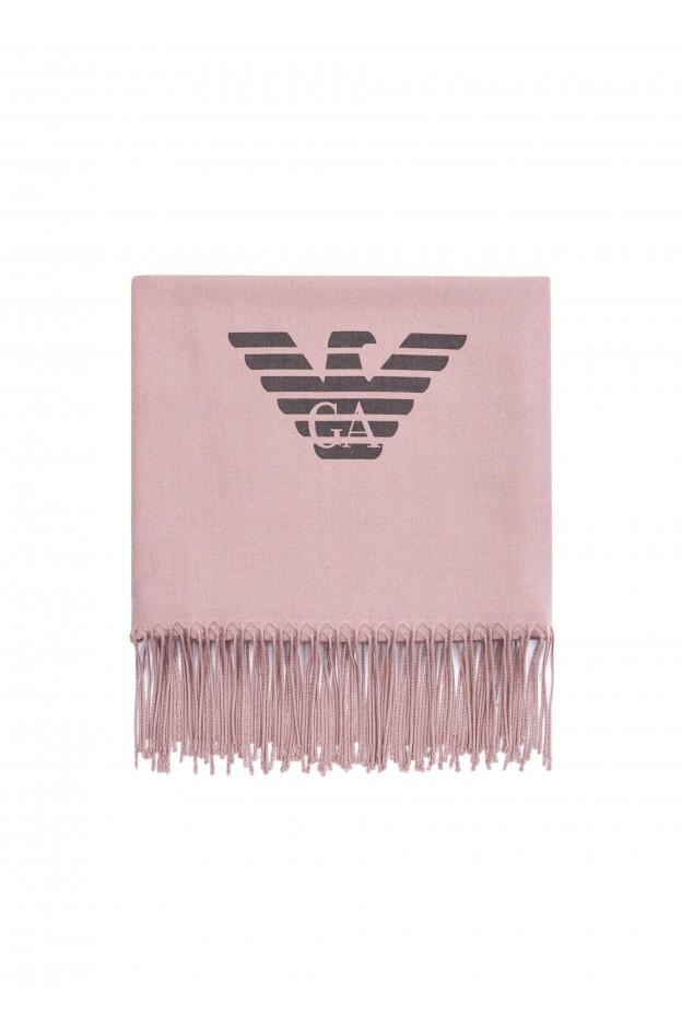 Emporio Armani Sciarpa 625214 8A3181 04377 Pink - Nuova Collezione Autunno Inverno 2019 - 2020