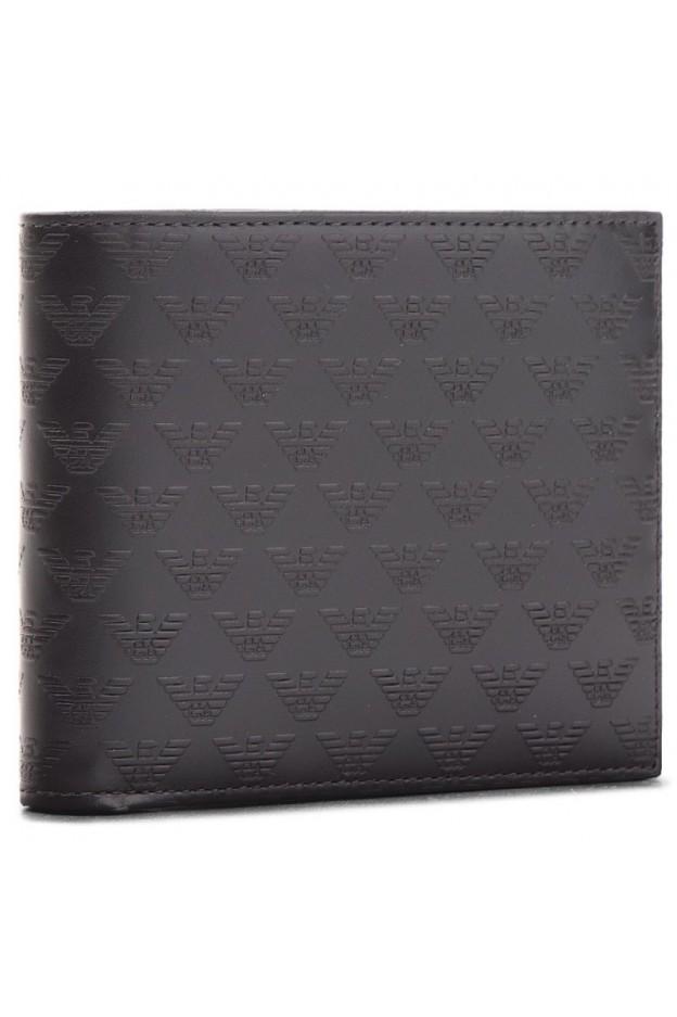 Emporio Armani Wallet YEM176 YC043 80001 Black - New Collection Autumn Winter 2019 - 2020