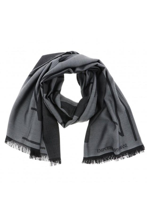 Emporio Armani Scarf 625216 9A324 00041 Grey - New Collection Autumn Winter 2019 - 2020