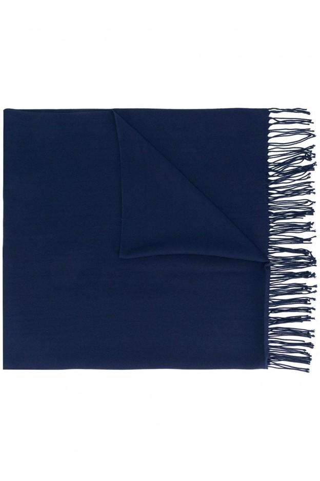 Emporio Armani Scarf 62521 48A318 Blue - New Collection Autumn Winter 2019 - 2020