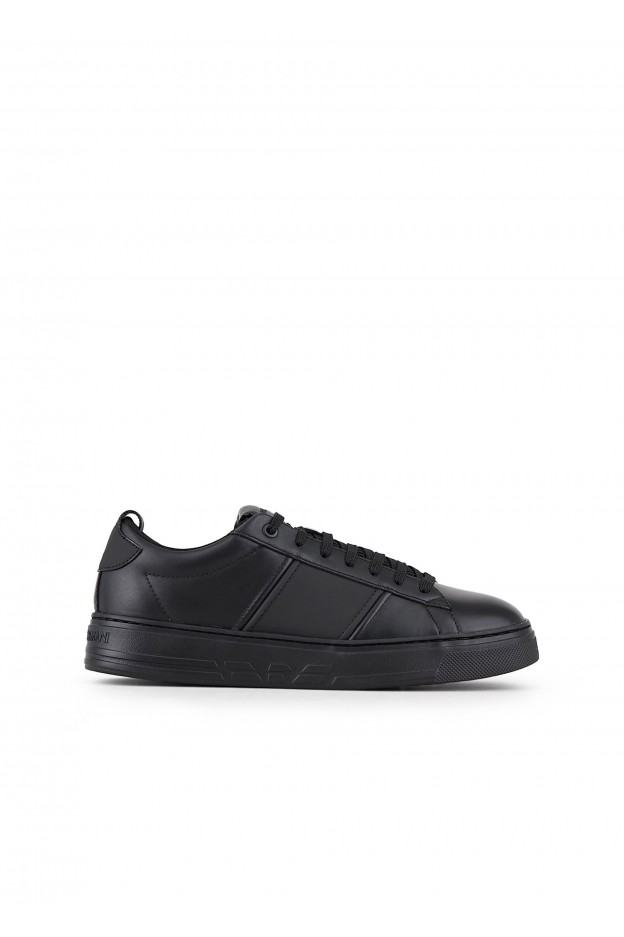 Emporio Armani Sneakers X4X287 XM096 1A083 Black - Nuova Collezione Autunno Inverno 2019 - 2020