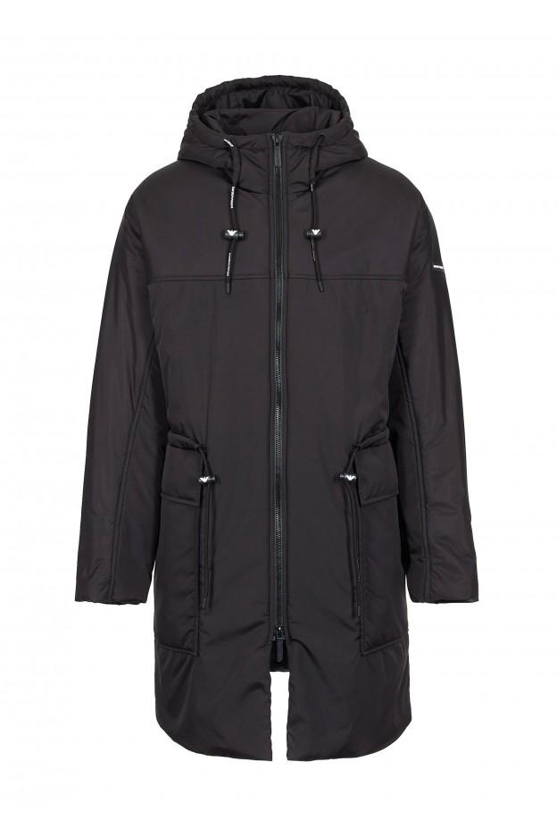 Emporio Armani Coat 6G1L83 1NSFZ 10999 Black - New Collection Autumn Winter 2019 - 2020