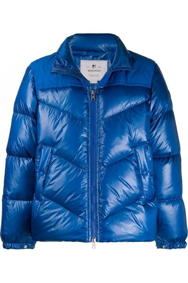 Woolrich Piumino WOCPS2861UT1702 Blue - Nuova Collezione Autunno Inverno 2019 - 2020