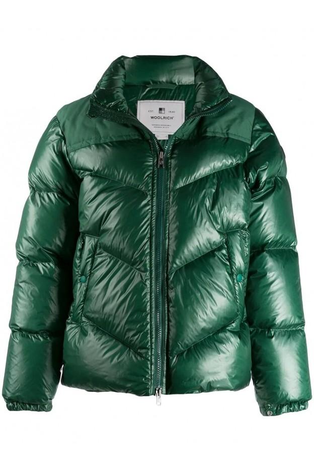 Woolrich Puffer Jacket WOCPS2861UT1702 Green - New Collection Autumn Winter 2019 - 2020
