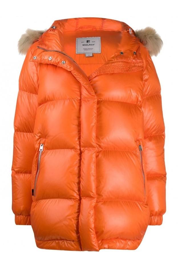 Woolrich Puffer Jacket WWCPS2787 UT1702 Orange - New Collection Autumn Winter 2019 - 2020