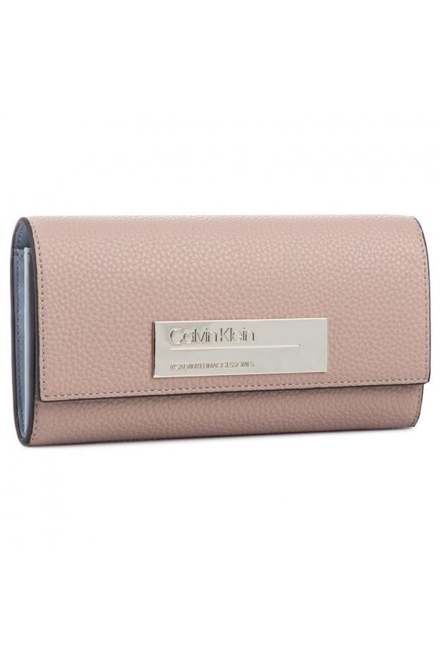 Calvin Klein Portafoglio K60K605351 646 Pink - Nuova Collezione Autunno Inverno 2019 - 2020