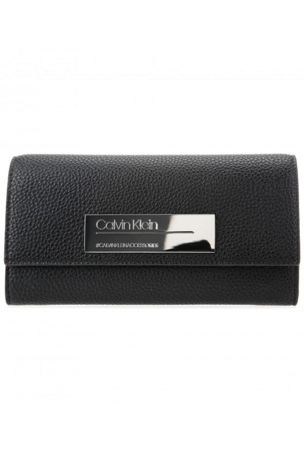 Calvin Klein Portafoglio K60K605351 001 Black - Nuova Collezione Autunno Inverno 2019 - 2020