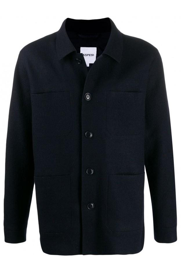 Aspesi jacket CJ05E522 Navy Blue - New Collection Autumn Winter 2019 - 2020