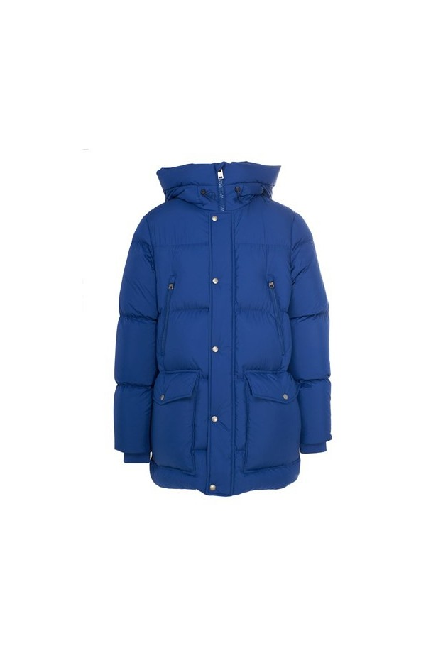 Woolrich Puffer Jacket WOCPS2911 UT1894 3060 Blue - New Collection Autumn Winter 2019 - 2020
