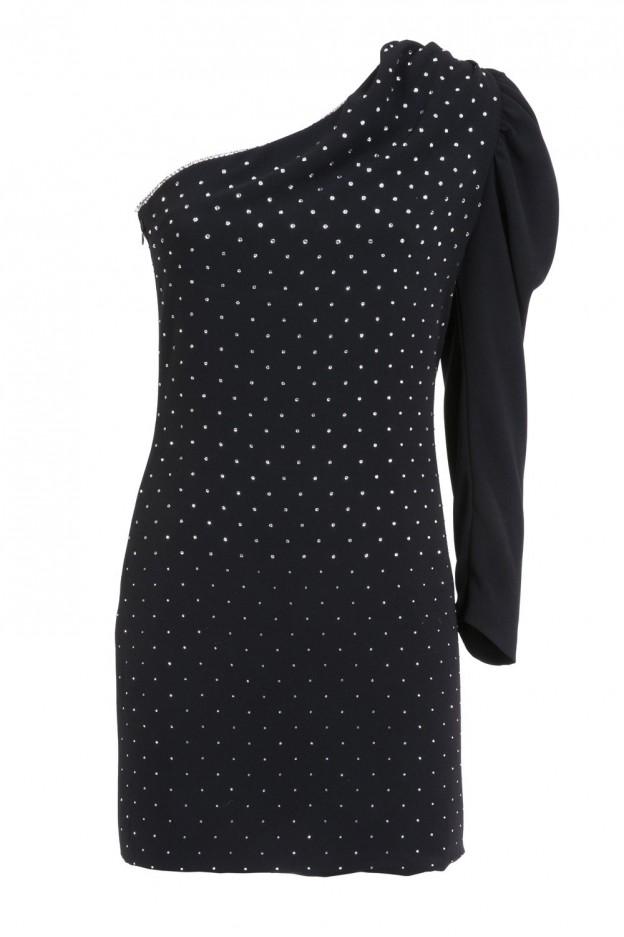 Simona Corsellini Dress A19CMAB040010000 Black - New Collection Autumn Winter 2019 - 2020