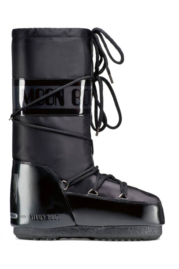 Moon Boot Glance 14016800 003 Black - New Collection Autumn Winter 2019 - 2020