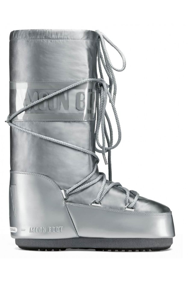 Moon Boot Glance 14016800 002 Silver - New Collection Autumn Winter 2019 - 2020