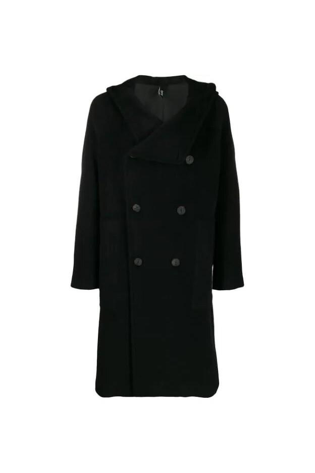 Hevo Coat SALVER772 Black - New Collection Autumn Winter 2019 - 2020