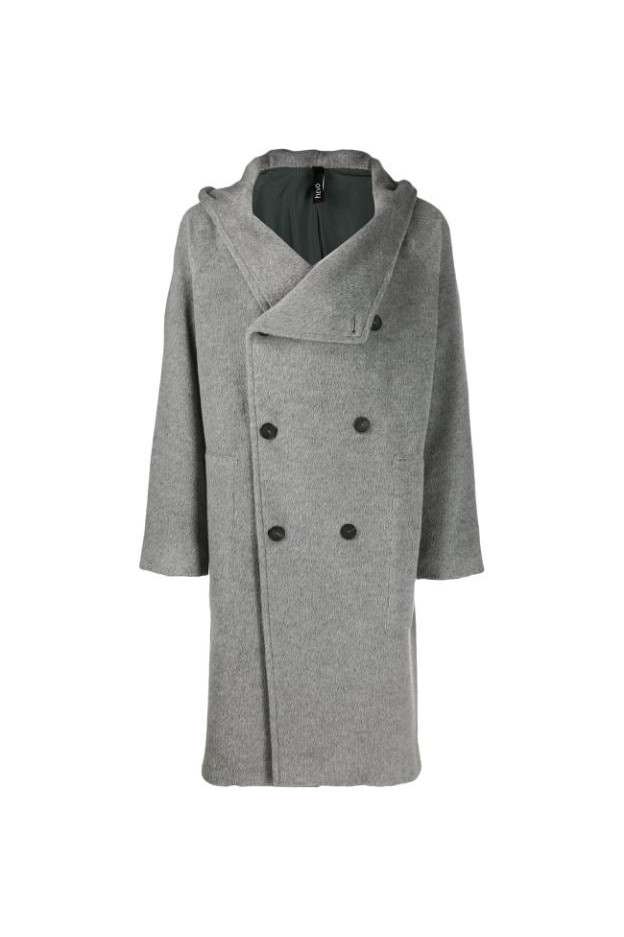 Hevo Coat SALVER772 Grey - New Collection Autumn Winter 2019 - 2020
