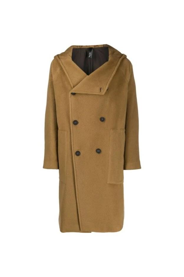 Hevo Coat SALVER772 Camel - New Collection Autumn Winter 2019 - 2020