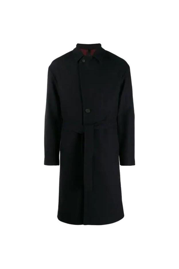 Hevo Coat OSTUNIR719 Blue - New Collection Autumn Winter 2019 - 2020