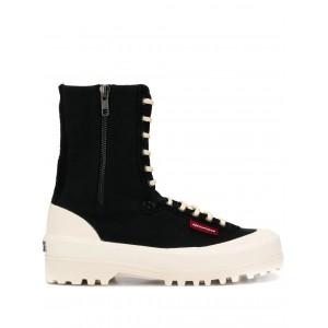 Superga x Paura Boots 2360PAURA Black - New Collection Autumn Winter 2019 - 2020