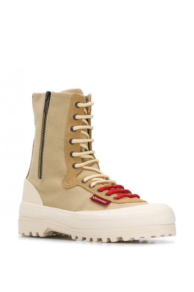 Superga x Paura Boots 2360PAURA Ecru - New Collection Autumn Winter 2019 - 2020