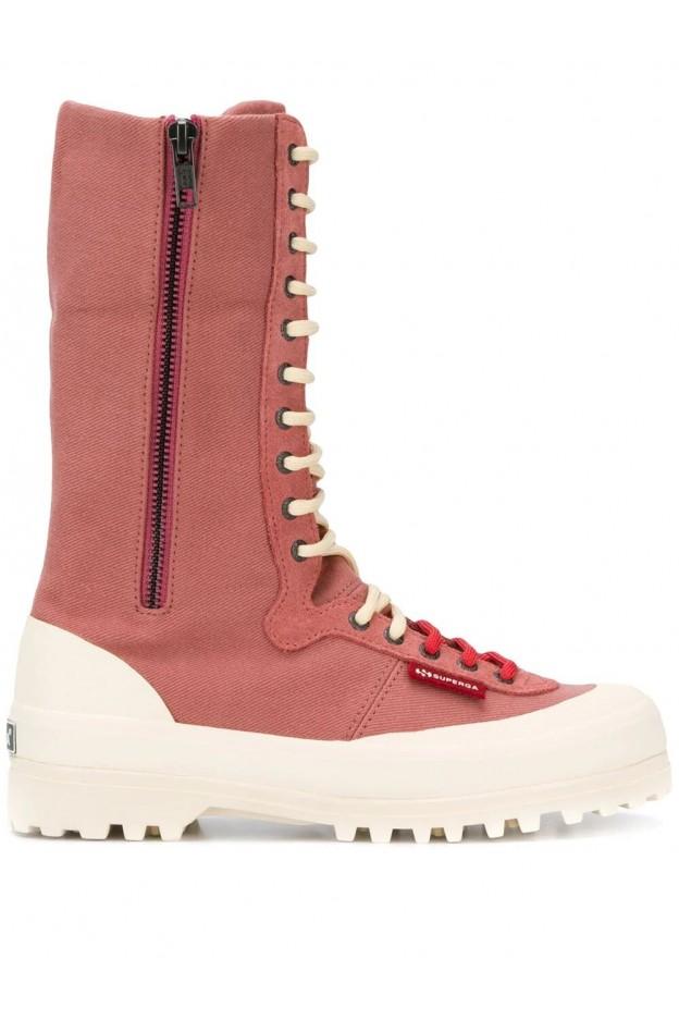 Superga x Paura Boots 2361PAURA Pink - New Collection Autumn Winter 2019 - 2020