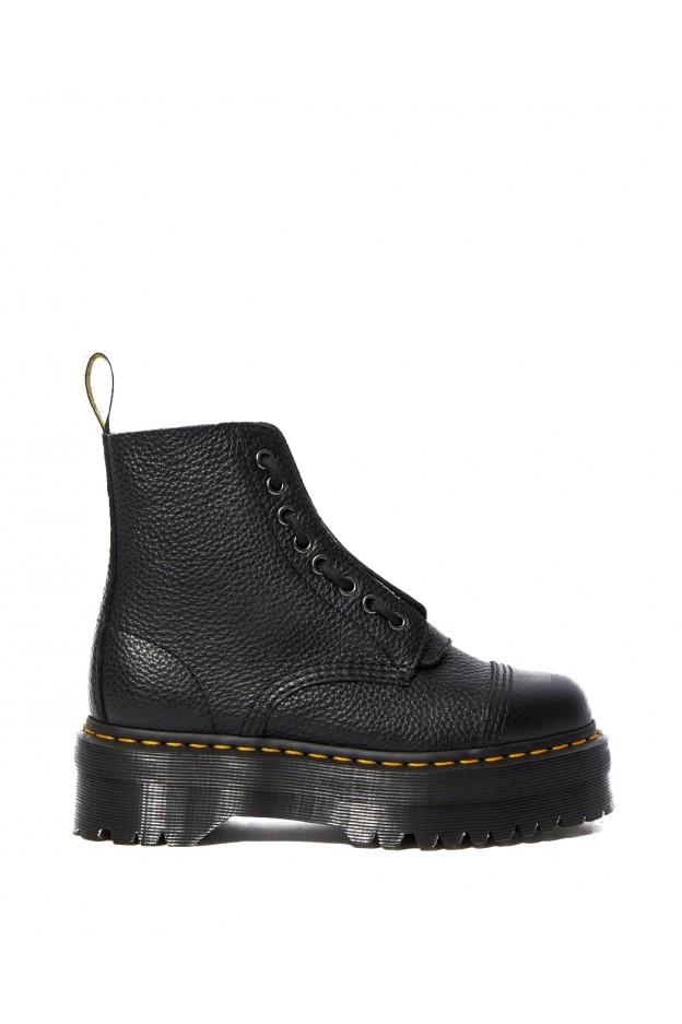 Dr. Martens Sinclair Platform Boots 22564001 Black Aunt Sally - New Season Fall Winter 2019 2020