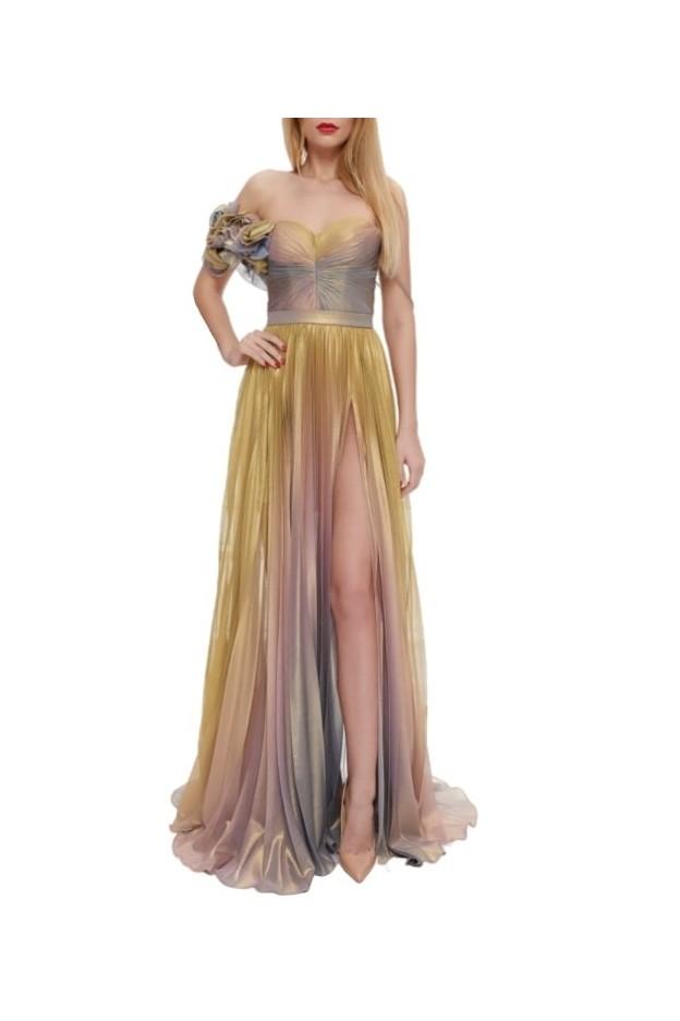 Iris Serban Dress Lin Luxury Evening Dress - New Season Spring Summer 2021