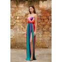 Iris Serban Dress Rainbow Luxury Home Dress - New Season Spring Summer 2020