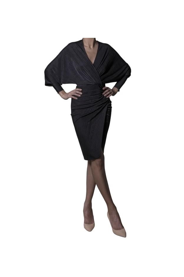 Rhea Costa Abito Batwing Sleeves 20102DMD - New Season Spring Summer 2020