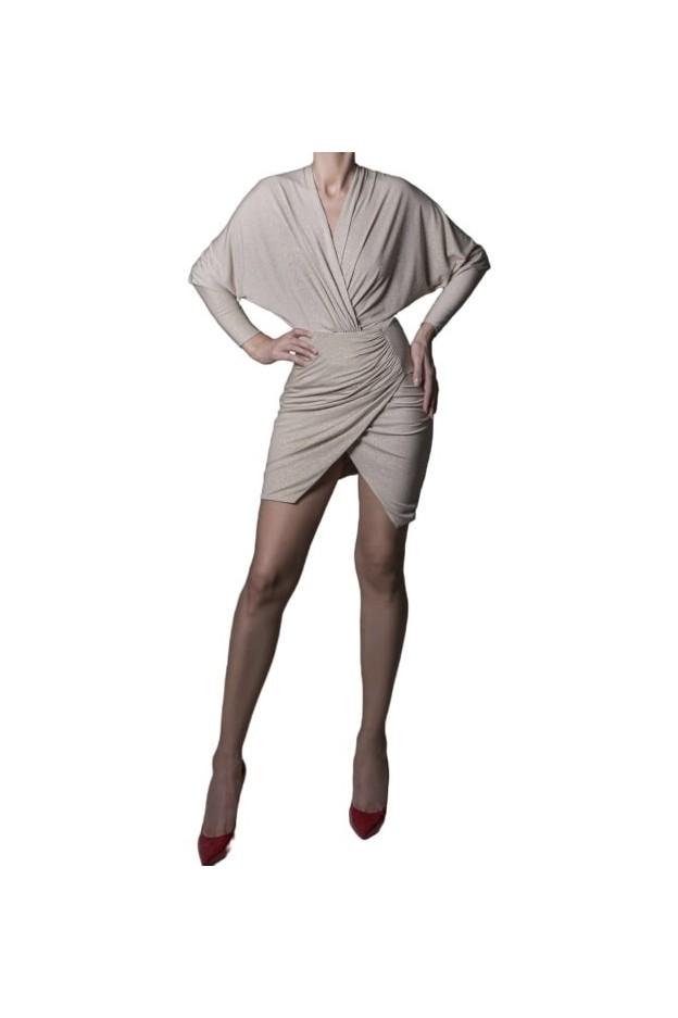 Rhea Costa Mini Wrapped Dress 20100DSH - New Season Spring Summer 2020
