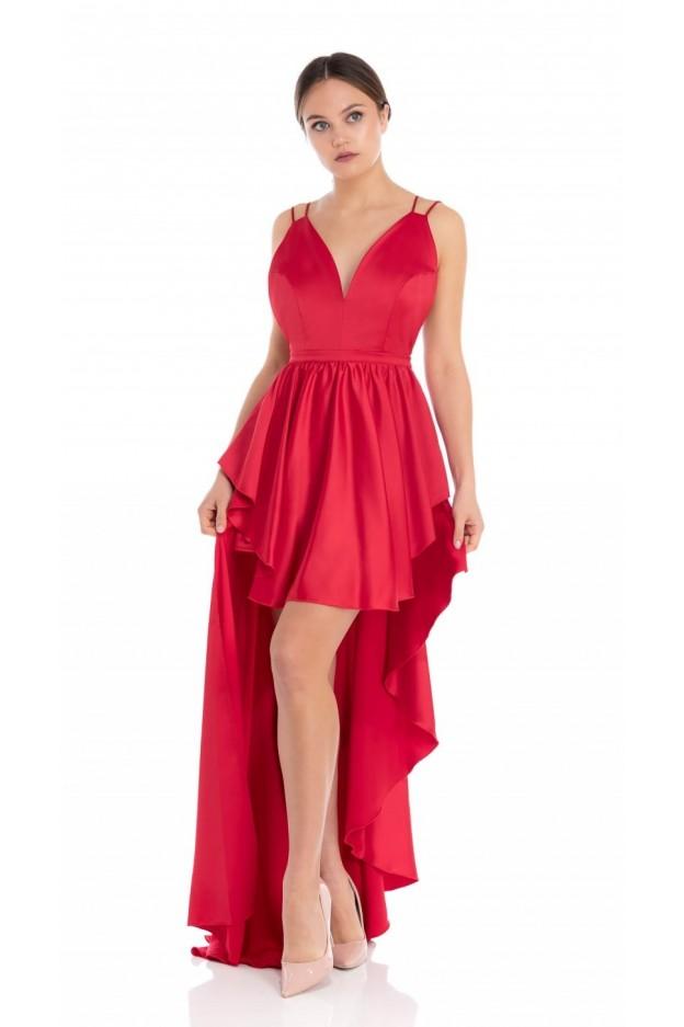 Feleppa Maria, asymmetrical dress RED