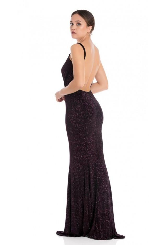 Feleppa Phaedra, mermaid dress with glitter FUCHSIA