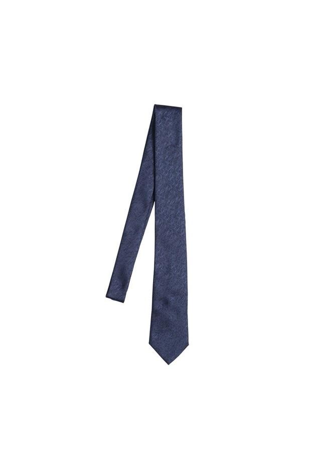 Z Zegna Silk tie jacquard 6cm 65I-D3C012