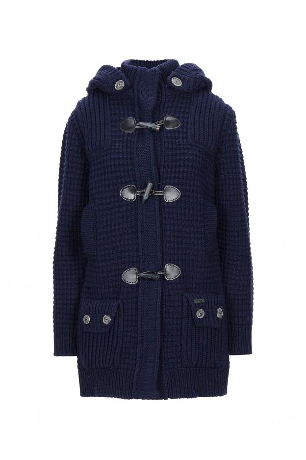 Bark Coat 02B8001 NAVY BLUE - Fall Winter 2020 2021