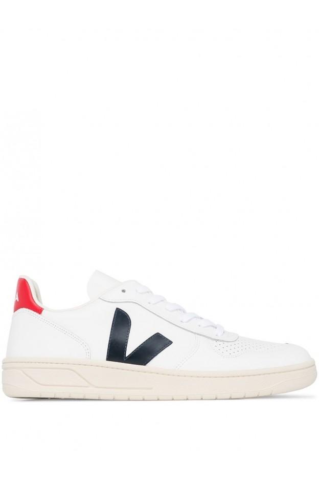 Veja Sneakers V-10 VX021267 EXTRA WHITE NAUTICO PEKIN