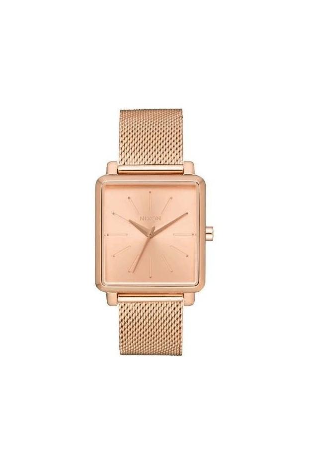 Nixon K Squared Milanese watch A1206 897 PINK GOLD