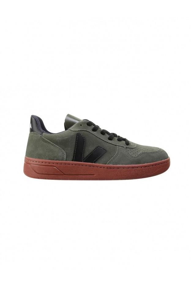 Veja Sneakers V-10 2900263510491 OLIVE GREEN