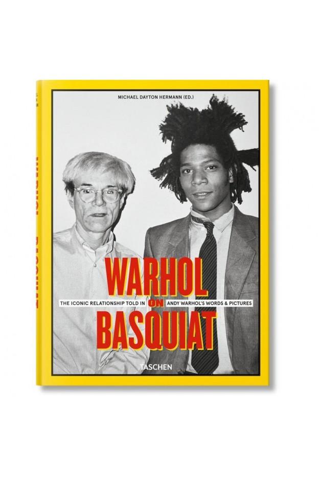 Taschen Warhol on Basquiat 9783836525237