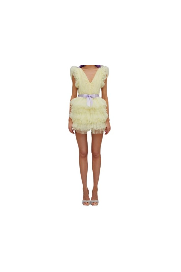 TeenIdol Orione Dress Yellow - Fall Winter 2020 2021