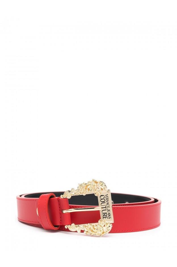Versace Jeans Couture belt D8VWAF01 71627 Red