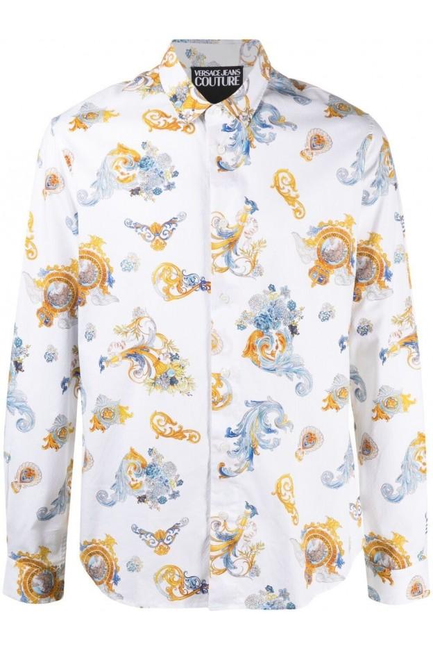 Versace Jeans Couture Versailles Print Shirt B1GWA6S2 SR585 003 - New Season Spring Summer 2021