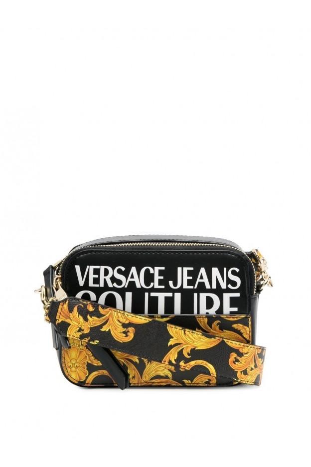 Versace Jeans Couture Two-Tone Crossbody Bag E1VWABG4 71727 M27 NERO - New Season Spring Summer 2021