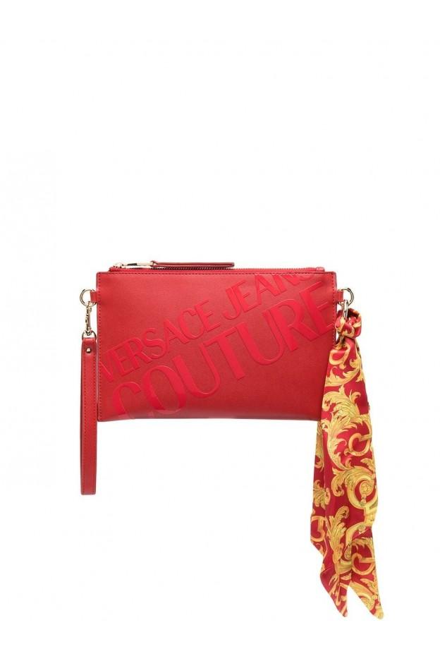 Versace Jeans Couture Logo Print Clutch Bag E1VWABAX 71875 500 RED - New Season Spring Summer 2021