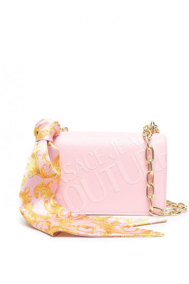 Versace Jeans Couture Barocco Foulard Shoulder Bag E1VWABA2 71875 426 PINK - New Season Spring Summer 2021